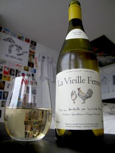 La Vieille Ferme | Blended white  {serving at unWINE Downtown Starkville | march 22, 2012}