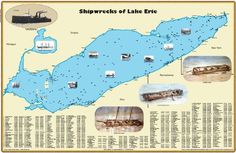 Shipwrecks of Lake Erie