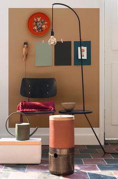 Flexa / Dulux Colour Features colour of the year 2019 Dark Interiors, Shop Interiors, Colorful Interiors, Interior Dorado, Interior Design Singapore, Contemporary Interior Design, Cafe Interior, Home And Deco, Home Decor Trends