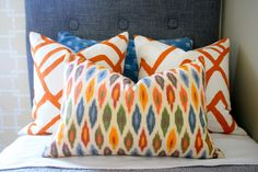 Amazing Ikat fabric.  Must find our where to buy it!