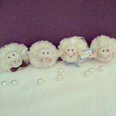Lembrancinhas de ovelhas em sache perfumado! R$ 5,00