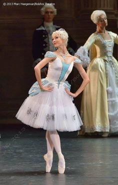 Olga Smirnova, Bolshoi Ballet as the Marchesa Sampietri in Marco Spada
