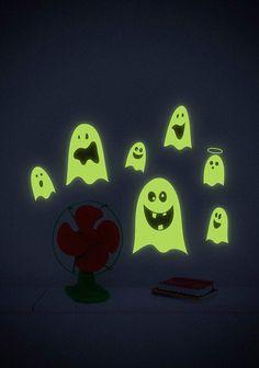 """Adesivo de parede """"Fantasminhas"""""""