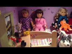 ▶ American Girl Doll House - YouTube - Never seen anything like this one!