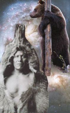 """January 2013, monthly oracle card: """"Brown Bear"""" -"""
