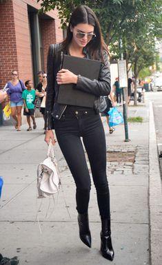 New York Fashion Week 2014: Kendall Jenner, Hailey Baldwin and Gigi Hadid | Grazia Fashion
