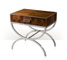 Theodore Alexander   Wild Rose MidCentury Modern Occasional Table