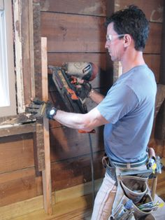 Rot__Nailing Scabs to Existing Studs Building Plans, Building Ideas, Woodworking Projects, Diy Projects, Load Bearing Wall, Foundation Repair, Diy Home Improvement, Home Repair, Wall Signs