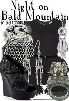 Night on Bald Mountain by disneybound