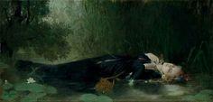 Jean-Baptiste Bertrand (1823-1887), Ophelia