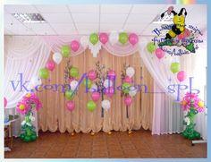 Оформление воздушными шарами - Выпускной в детском саду