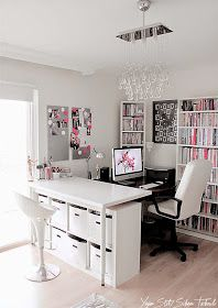 Milk with Honey: Interior design ideas for a lady – Home office – Working women
