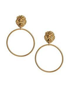 Beauty and the Beast: beast earrings