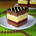 Prajitura Afrodita Romanian Desserts, Romanian Food, Albanian Recipes, Cake Recipes, Dessert Recipes, Square Cakes, Polish Recipes, Food Cakes, Vanilla Cake