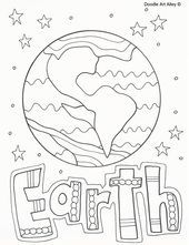 Solar System coloring sheets