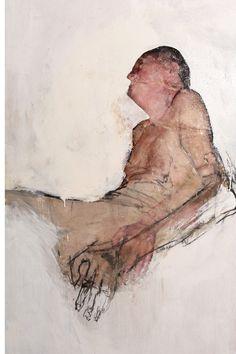 Ulrike BolenzVieil Homme, 2007 acrylic, 100 x 200 cm