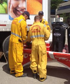 """""""Edmonton Fire crews helping with 2013 Cleanup Emergency Responder, Clean Up, Calgary, Abs, Fire, Twitter, Crunches, Abdominal Muscles, Killer Abs"""