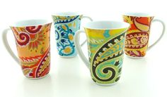 1000 Images About Paisley On Pinterest Dinnerware Paisley Design And Mugs