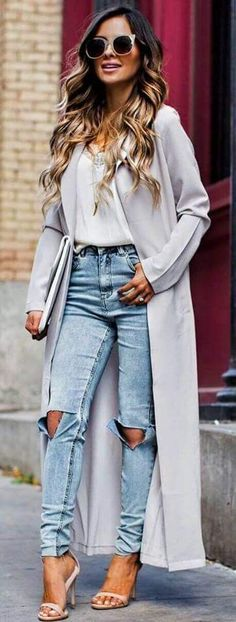 Amazing Summer Outfits To Wear Now 22 - Fashion Design Girly Outfits, Fall Outfits, Casual Outfits, Summer Outfits, Cute Outfits, Mom Outfits, Office Outfits, Jean Outfits, Urban Chic