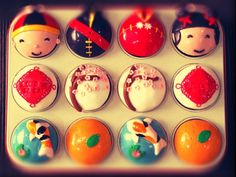 Chinese New Year 2013 Cupcakes