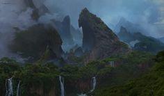 ArtStation - Uncharted 4 island, Aaron Limonick