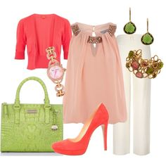 Pretty in Spring, created by goharv on Polyvore