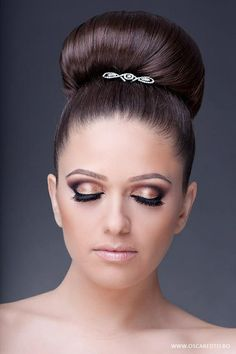Nice hair and make-up