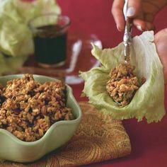 Crispy Ginger-and-Garlic Asian Turkey Lettuce Wraps | KIDS LOVE IT Finalist. JENNIE-O TURKEY STORE Brand Winner.