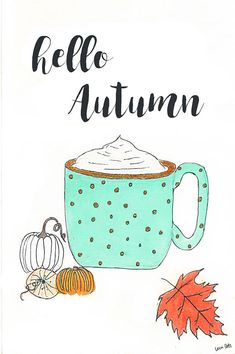 Hello Autumn Autumnal Equinox, If You Want Something, Anne Of Green, Hello Autumn, Social Media Content, I Fall, Card Stock, Digital Prints, Etsy