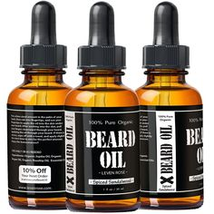 Leven Rose Spiced Sandalwood Beard Oil - front and back