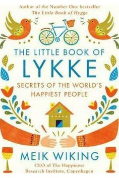 """I loved the Little Book of Hygge. I can't wait to read this new book by the same author. I wonder what """"lykke"""" means and I can't wait to learn how to get some! #ad #booknerd #hygge #happiestpeopleonearth #celebratetheeveryday"""