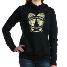 walking dead daryl wings t-shirt Women's Hooded Sweatshirt Daryl Dixon Wings Hooded Sweatshirt by The Walking Dead T-Shirts from Gold Label - CafePress Fleece Hoodie, Hooded Sweatshirts, Crew Neck Sweatshirt, Graphic Sweatshirt, Pullover, Walking Dead T Shirts, Love My Boyfriend, Hoods, Casual