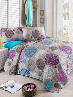 Diszkrét Elegancia kétszemélyes steppelt ágytakaró szett LILY HOME a8e4df9555