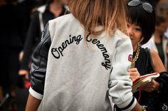 varsity jacket opening ceremony