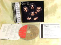 CD/Japan- QUEEN II (2nd) w/OBI RARE mini-LP GATEFOLD COVER TOCP-67342 remaster #HardRockPopRock