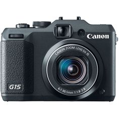 Canon PowerShot G15 12MP HD Digital Camera with 3-Inch LCD & 5x Optical Zoom #Canon