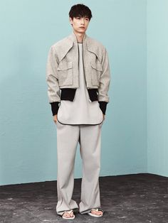 Sean Suen unveiled his Fall/Winter 2014 lookbook, featuring Piqiang Lv photographed by Trunk Xu and styled by Dan Cui. The collection features earth, sky, rivers, architecture, and even humans and plants, are all being interpreted:... »