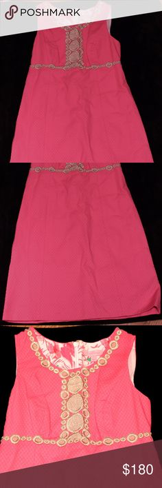 Lilly Pulitzer Rosie Shift Dress in Hotty Pink This brand new shift dress from Lilly is available in Hotty Pink! Never worn, still has the tag! Lilly Pulitzer Dresses