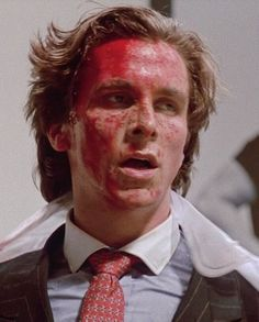 Christian Bale in American Psycho Scary Movies, Good Movies, Anthony Michael Hall, Star Wars, Weird Science, Christian Bale, Vintage Horror, Horror Films, Movies Showing