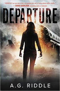 Departure - Departure by A. Riddle 62431668 The world's past and future rests in the hands of five unwitting strangers in this definitive edition of A. Riddle's time-traveling, mind-bending speculative thriller. En route to London from New York, Fli The Atlantis Gene, Critique, Diana Gabaldon, Mystery Thriller, Sci Fi Fantasy, Fantasy Books, Riddles, One In A Million, Fiction Books