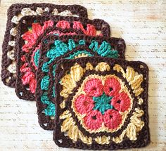 I am so happy to share the African Flower Granny Square Pattern with you. I absolutely love the way it turned out; splashes of colors and stitches and best of all — square! I began looking at…