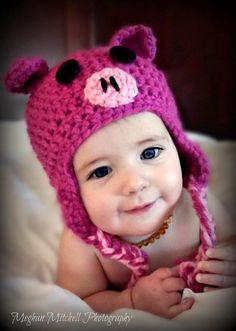 Pig Hat pattern $2