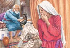 10 - יעקב מקבל את ברכת הבכורה