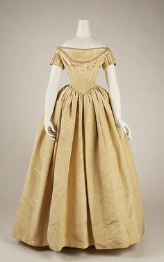 Dress  1841-1848  The Metropolitan Museum of Art