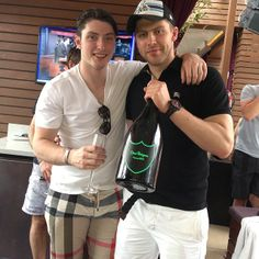 Duchene and Varly in Vegas