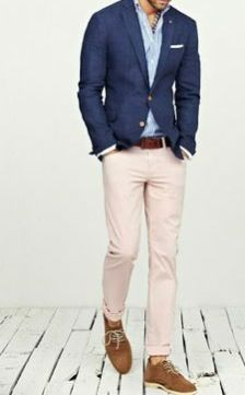 SPRING! Smart and casual yet ready for any party.