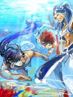 Sinbad & Hinahoho teaching Masrur how to swim. Magi Masrur, Magi 3, Anime Magi, Manga Anime, Hot Anime, Anime Guys, Manado, Alibaba And Morgiana, Magi Adventures Of Sinbad