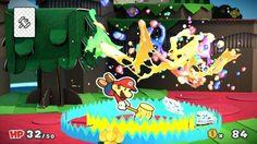 Paper Mario Color Splash se ha dejado ver esta mañana para todos los que ya habían hecho una… https://www.tekcrispy.com/videojuegos