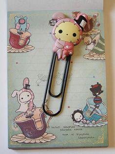 @GourmetPens @CoolPencilCase Sentimental Circus Bookmark Clips - Shappo
