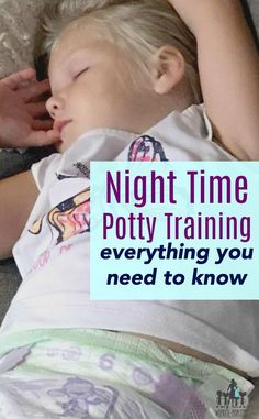 Everything you need to know about night time potty training from an experienced mom of four Parenting Toddlers, Parenting Advice, Parenting Styles, Toddler Potty Training, Potty Training Night Time, Bed Wetting, Babys, Children, Hypnotherapy